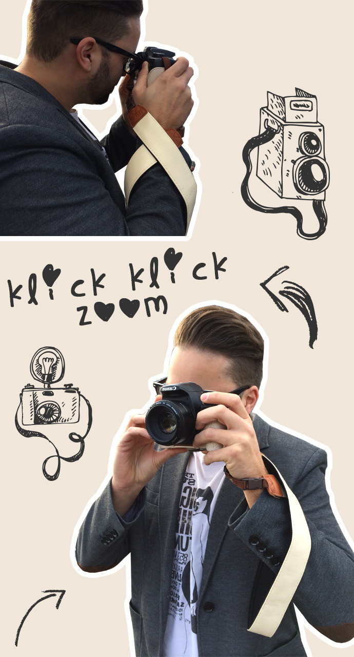 Klick Klick Zoom Kameragurt Gewinnspiel