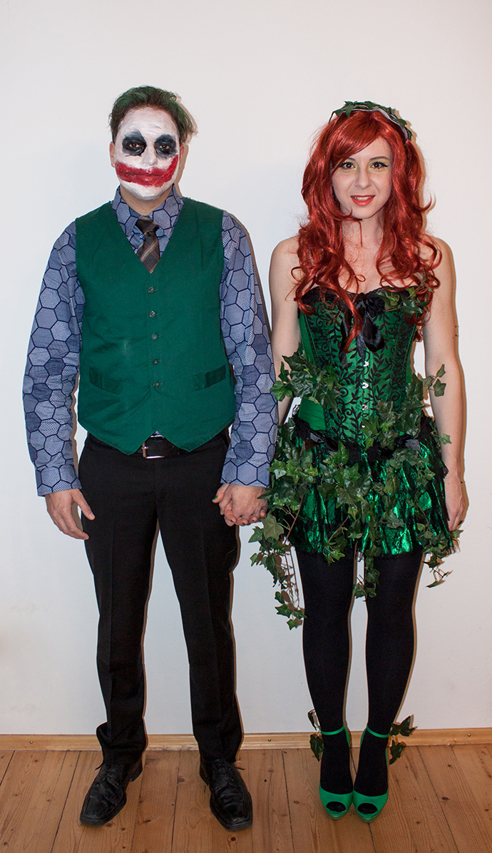 Faschingskostume Joker Poison Ivy Who Is Mocca