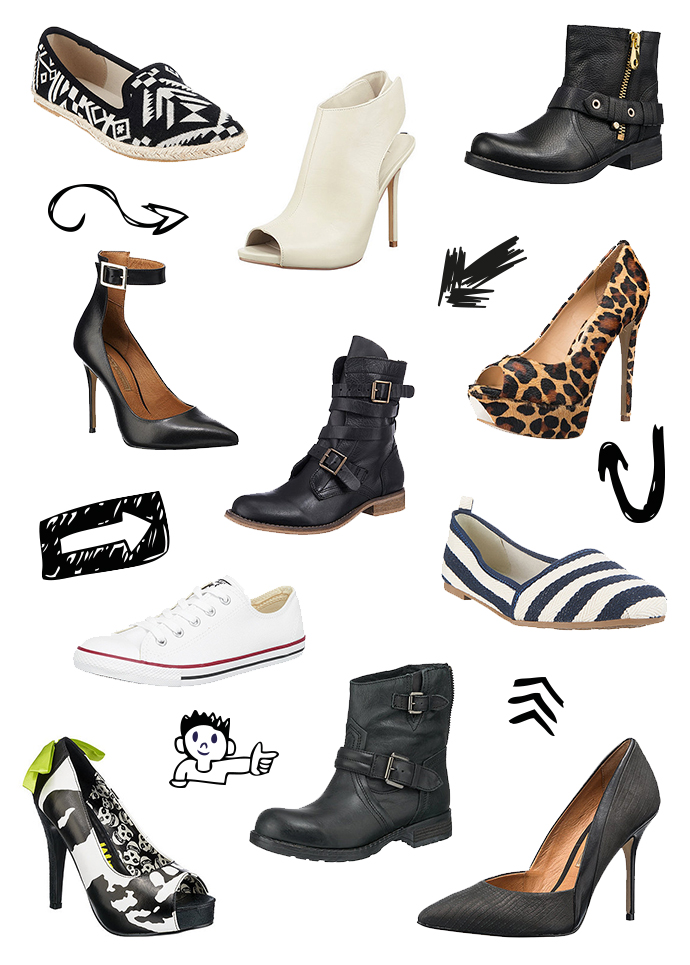 whoismocca, mirapodo, fashionblogger, schuhtrends, stiefeletten, buffalo, bullboxer, bikerboots, pumps, iron fist, print, leopard,