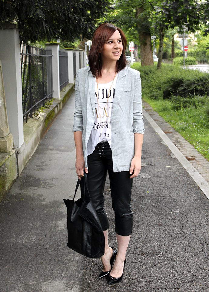 perfect vintage blazer outfit 11