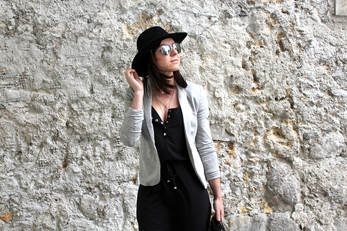 who is mocca, austrian fashionblog, fashionblog tirol, maxikleid, how to style maxidress, boots, blazer, shopper