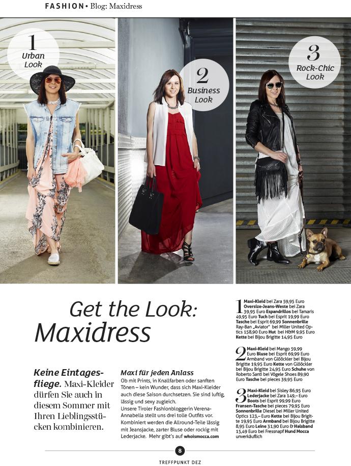 who is mocca, austrian fashionblogger, fashionblog tirol, maxikleider, how to wear maxidress, how to style maxikleid, wie kombiniere ich ein Maxikleid, Rockig, urban chic, business chic