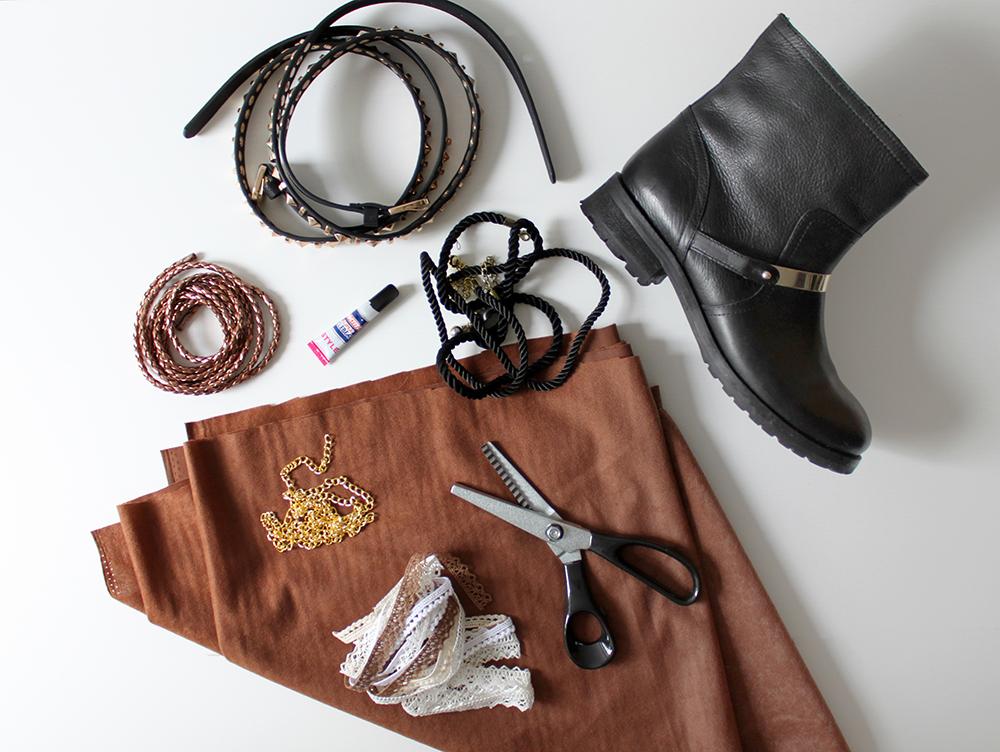 diy boho boots. Black Bedroom Furniture Sets. Home Design Ideas
