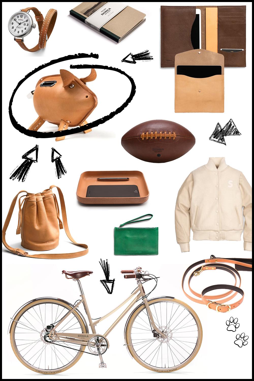 beautyblogger, fashionblogger, interioblogger, shinola, lederwaren, handgemacht, handarbeit, fahrrad, ipad case, iphone case, bucket bag, sparschwein leder, hundeleine leder, collegejacke leder, geldbörse, brieftasche