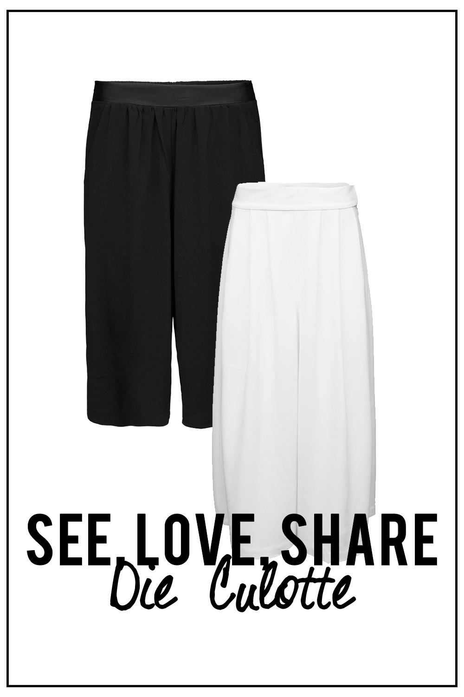 see love share wie kombiniere ich eine culotte. Black Bedroom Furniture Sets. Home Design Ideas