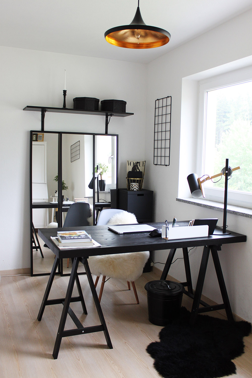 Homestory Home Office Mit Ikea Voga Und Eames