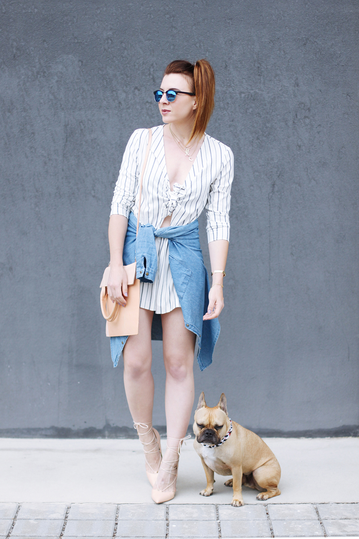 who is mocca, modeblog tirol, fashionblog austria, german fashionblogger, streifen jumpsuit H&M, jeanshemd yesstyle, flapbag cos, riemchen high heels asos, Jumpsuit kombinieren, whoismocca.com