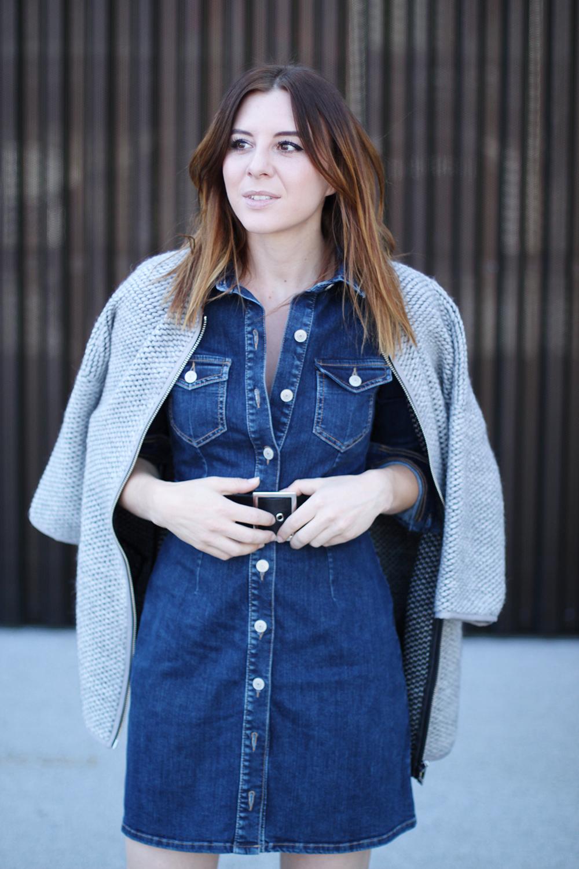 9a4913cae5a2 Kleid Tag Kleider Jeans – Stylische Richtig Kombinieren Für Jeden ...
