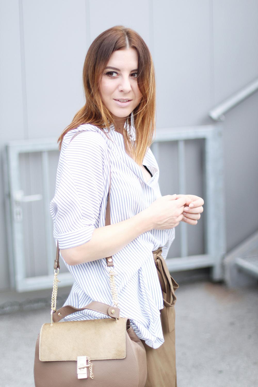 who is mocca, modeblog, fashionblog, wickelrock zara, chloe drew lookalike, frenchie, oversize streifenbluse, whoismocca.com