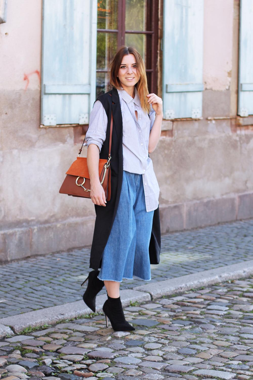 whoismocca modeblog jeans culotte kombinieren denim zara ankle boots stiefeletten oversize. Black Bedroom Furniture Sets. Home Design Ideas