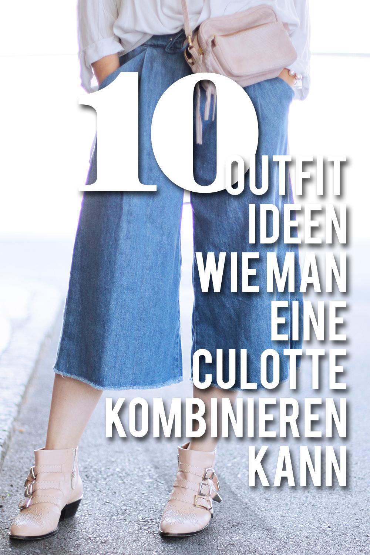 10 outfit ideen wie man eine culotte kombinieren kann who is mocca. Black Bedroom Furniture Sets. Home Design Ideas