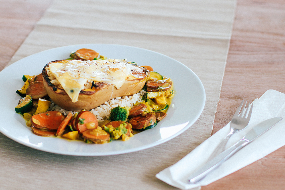 who is mocca, modeblog, fashionblog, foodblog, butternuss kürbis, veganes rezept, vegetarisch cookbook kürbis, butternut, birnenkürbis, whoismocca.com