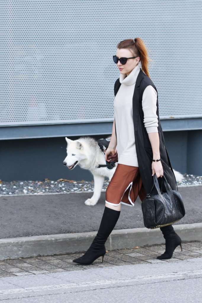 Rollkragen Pullover kombinieren, Modeblog, Fashionblog