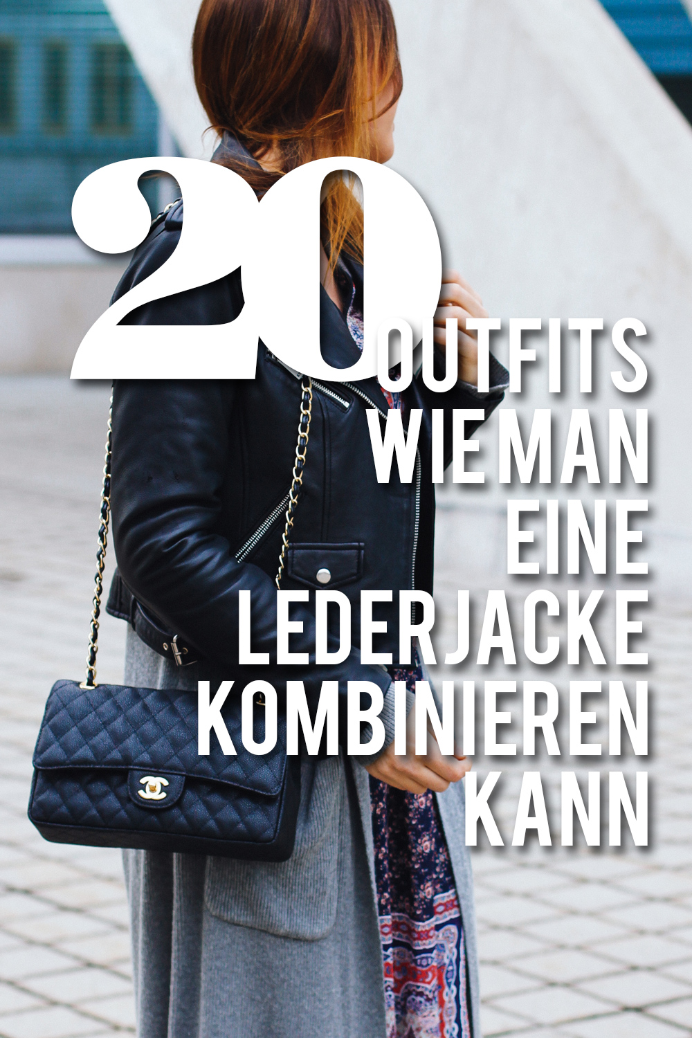 Lederjacke Lookbook: 20 Outfits wie man ...