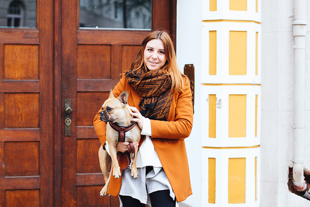 who is mocca, modeblogger, fashionblogger, cognac blazer, outfit blazer, herbstoutfit, winter outfit, cheap monday skinny jeans, animal print tasche, oversize schal zara, whoismocca.com