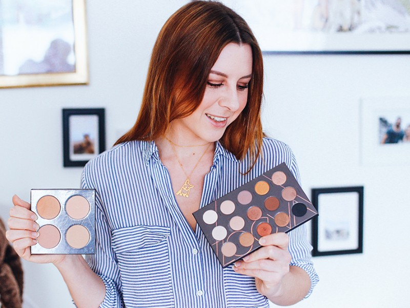 who is mocca, modeblog, fashionblog, beautyblog, zoeva spectrum collection, eyeshadow, lidschatten, rouge, pinsel, get ready with me