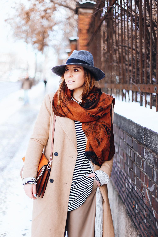 culotte im winter layering outfit mit longshirt und cardigan. Black Bedroom Furniture Sets. Home Design Ideas