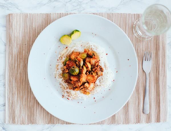 veganes Kohl Rezept, vegane Kohl Pfanne, Rosenkohl, Chinakohl, veganes Mittagessen, veganes Abendessen, Food Blog Österreich, whoismocca.com