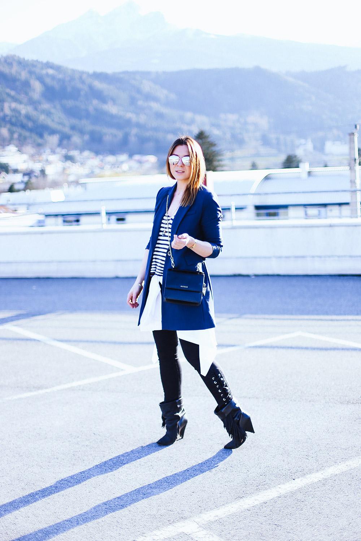 Hemd um die Hüfte, Outfit mit Männerhemd, Streetstyle Innsbruck, Boho Outfit Isabel Marant, Oversize Blazer, Fashion Blog, Mode Blog, whoismocca.com