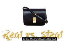 Céline Medium Classic Box Bag, Real vs. Steal, Lookalike, Dupe, Fashion Blog, whoismocca.com
