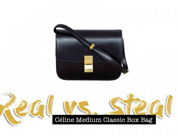 Céline Medium Classic Box Bag, Real vs. Steal, Lookalike, Dupe, Fashion Blog, whoismocca.com