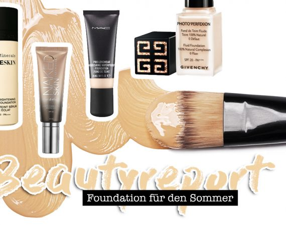 Foundation für den Sommer, trockene und Misch Haut, normale Haut, LSF, Beautyreport, Beautytipps, Beauty Magazin, Beauty Blog, whoismocca.com