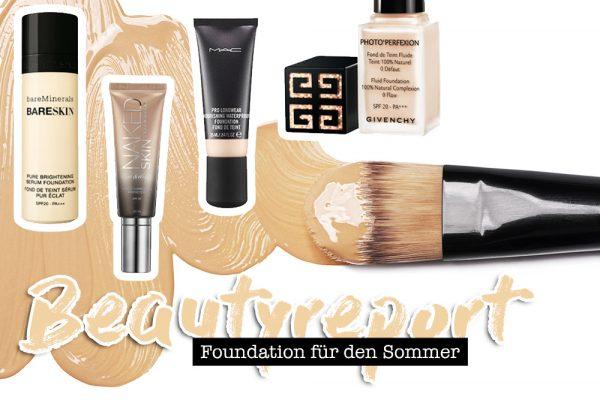 Foundation für den Sommer, trockene und Misch Haut, normale Haut, LSF, Beautyreport, Beautytipps, Beauty Magazin, Beauty Blog, whoismocca.com
