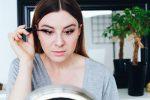 Frühlings Makeup für den Alltag mit Braun und Rosé, Get Ready With Me, Schritt für Schritt Anleitung, YouTube Tutorial, Makeup Video, Beauty Tutorial, Beauty Blog, Beauty Magazin, Eyeliner, Wing, whoismocca.com