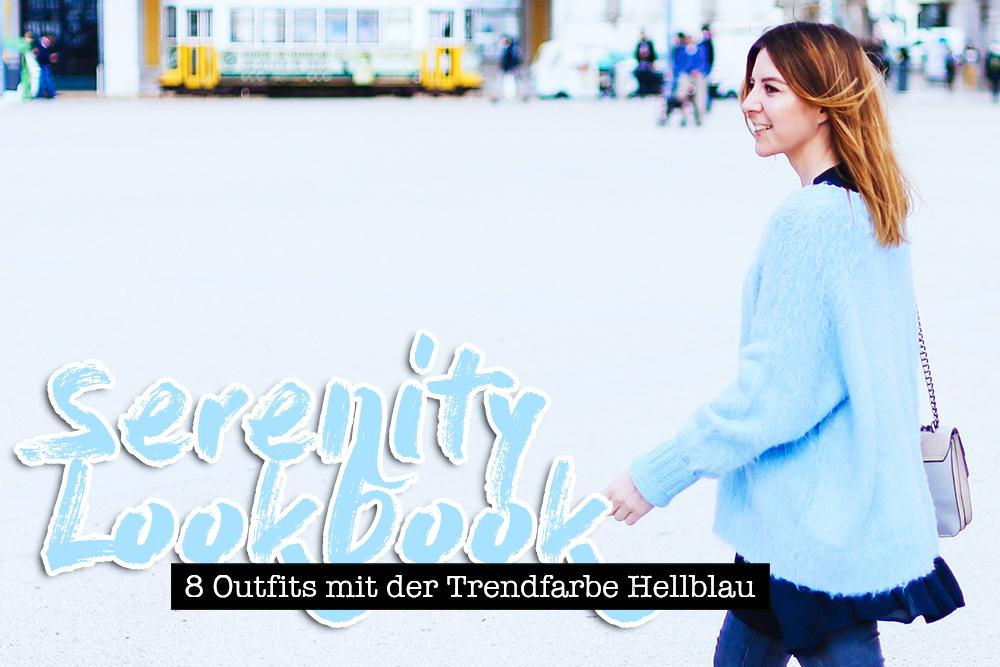 Serenity Lookbook, Trendfarbe Hellblau kombinieren, Pantone Farbtrends 2016, Streetstyle, Fashion Blog, Modeblog, whoismocca.com