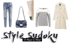 Style Sudoku, Fashion Sudoku, 10 ways to wear, Alltags Outfits, Fashion Blog, Modeblog, whoismocca.com