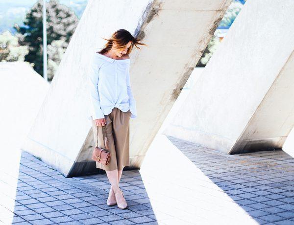 9-to-5 Office und After Work Outfit im Sommer, Culotte, Pumps, Clutch von Zara, Streetstyle, Modeblog, Fashion Blog, whoismocca.com
