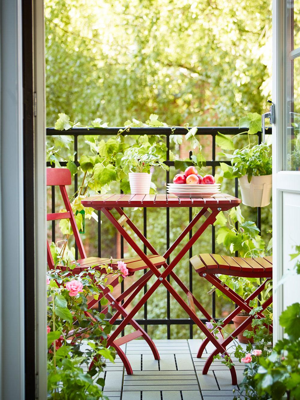 15 schöne balkon ideen für den sommer, Gartengerate ideen