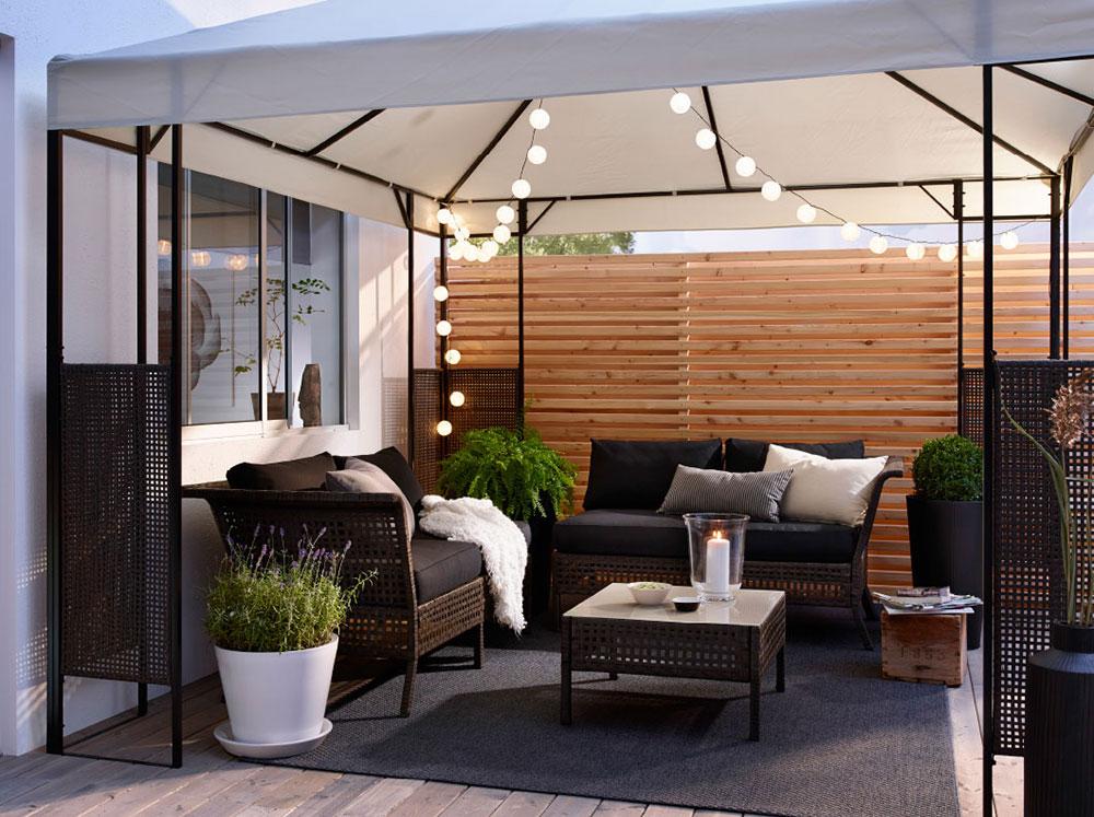 Balkon Ideen Sommer Zuhause Terrasse Inspiration Interiorblog