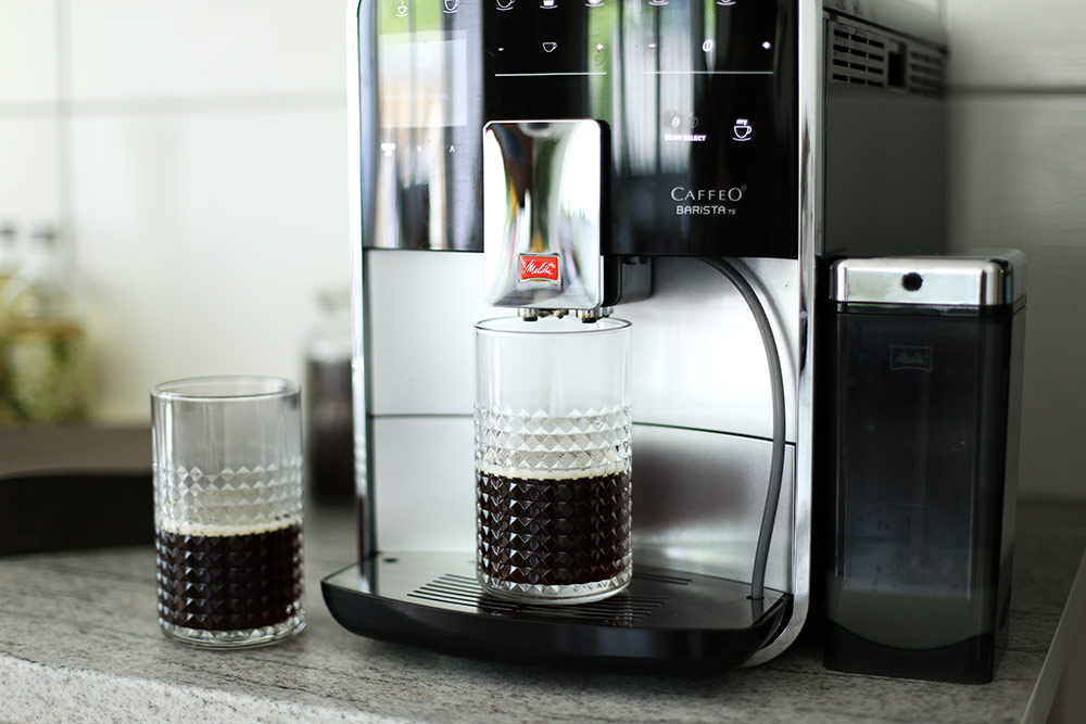 Leckere Sommer Eiskaffee Rezepte, Ice Macchiato, Moccatone, Melitta Barista TS Kaffeevollautomat, Foodblog, whoismocca.com