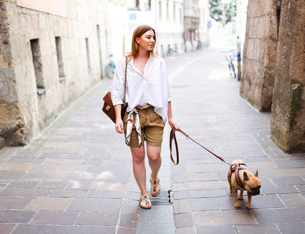 Isabel Marant Shorts, Oversize Bluse, braune Chanel Vintage Tasche, Modeblog, Fashion Blog, Streetstyle Innsbruck, whoismocca.com