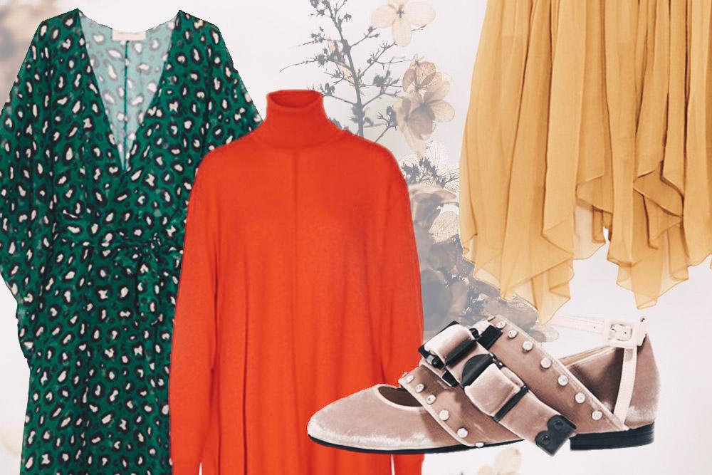 Herbsttrends 2016: 4 Trendfarben und -stoffe auf einen Blick, Tüll, Samt, Rot, Grün, Modeblog, Fashion Magazin, whoismocca.com