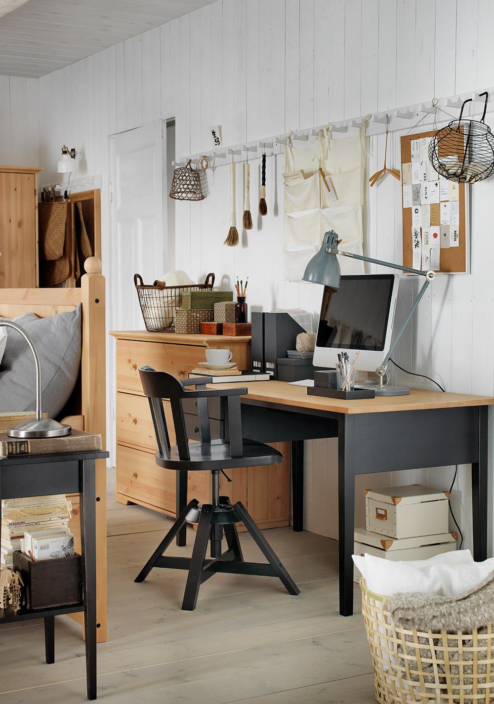 home office ideen deko funktional kreativ intelligent stauraum arbeitsbereich arbeitszimmer. Black Bedroom Furniture Sets. Home Design Ideas
