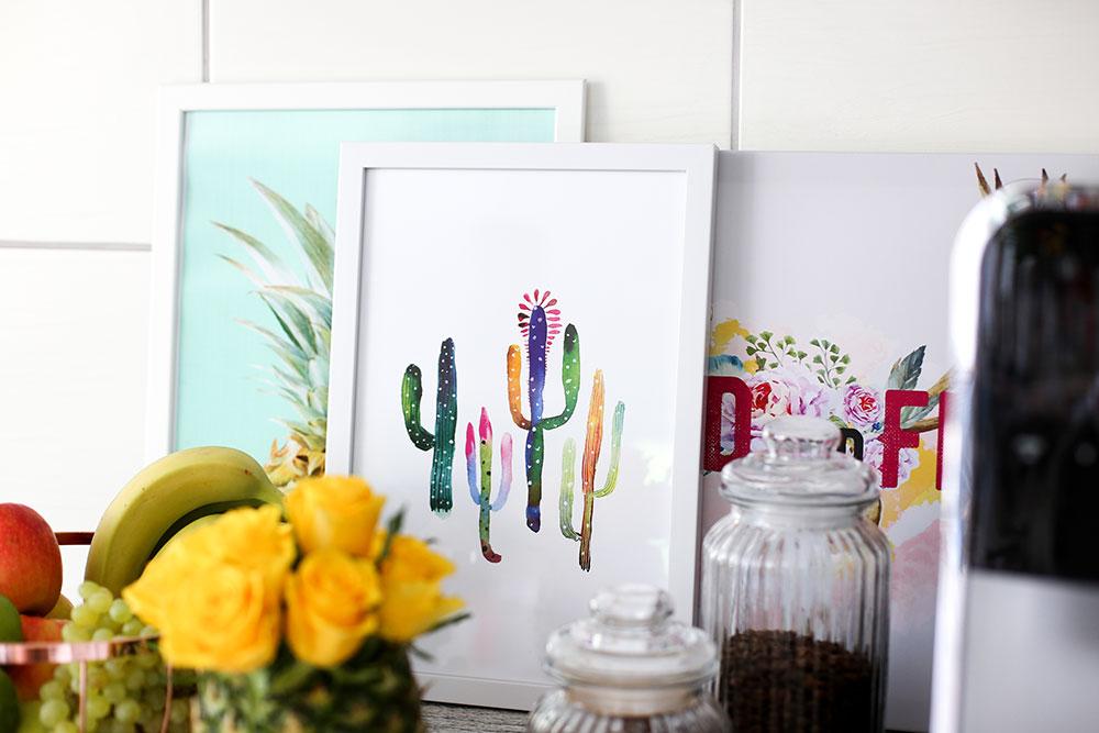 Kreative (DIY) Ideen, wie man die eigene Küche verschönern kann!