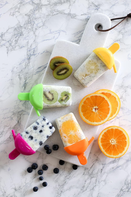 Popsicles mit Früchten und Joghurt, Küchen Dekoration, Pimp my Kitchen, Küche verschönern, Küchen Hacks, Do It Yourself, Interior Blog, Magazin, whoismocca.com