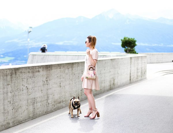 Sommerkleid mit Volant, kleiner Bamboo Shopper von Gucci, American Vintage, Ted Baker, Gucci Blooms, Frenchie, Streetstyle, Innsbruck, Fashion Blog, Modeblog, whoismocca.com
