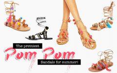 The prettiest Pom Pom Sandals for summer, Fashion Blog, whoismocca.com