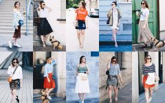 Sommer Lookbook, Outfit Inspiration, 10 verschiedene Outfits mit Rock, Fashion Blog, Streetstyle, Modeblog, whoismocca.com