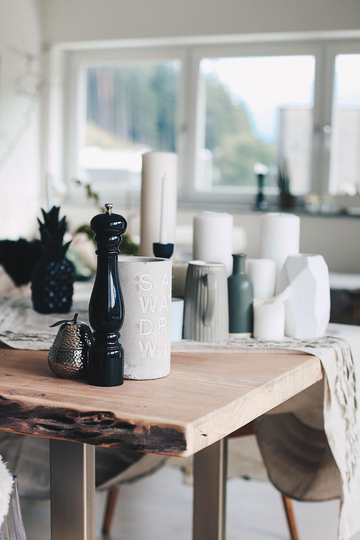 aufgetischt so habe ich unseren essbereich gestaltet. Black Bedroom Furniture Sets. Home Design Ideas