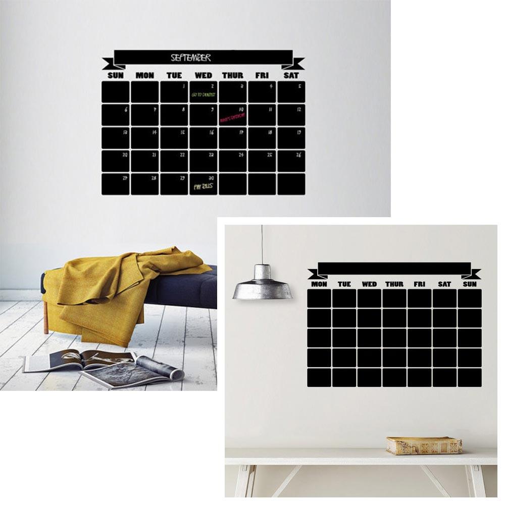 Wandkalender 2017, große Tafel, Interior Blog, Einrichtungen Büro, whoismocca.com