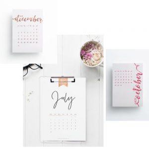 wandkalender 2017 interior einrichtung blog whoismocca 02. Black Bedroom Furniture Sets. Home Design Ideas