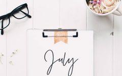 Wandkalender 2017, Kalender Motive, Blumen, Fashion, Interior Blog, Einrichtung Büro, whoismocca.com