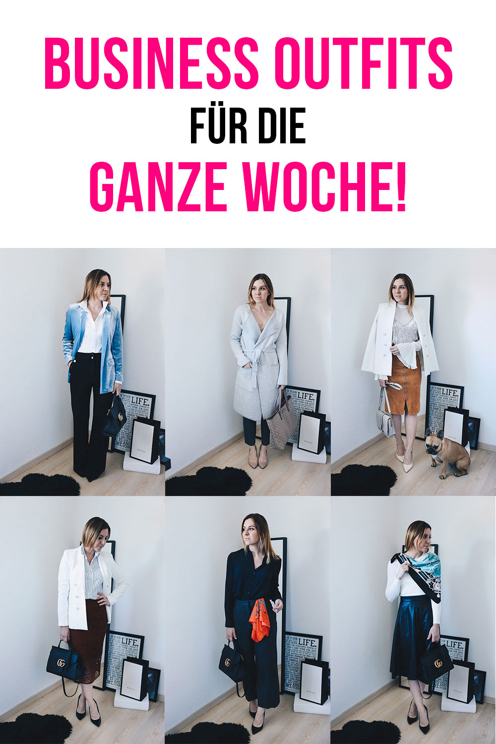 Office-Chic Fashion Diary, Business Outfits für die ganze Woche, Büro Outfits, Business Looks, Modeblog, Fashionblog, whoismocca.com