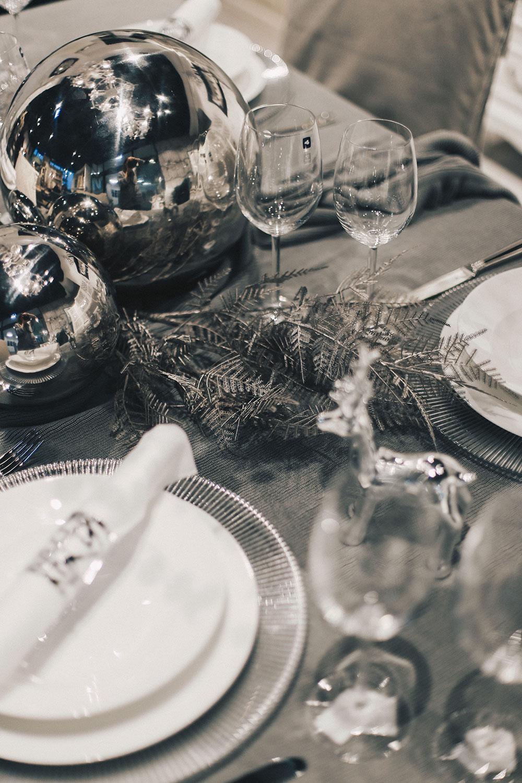 Minimalistische Tisch-Deko zu Weihnachten - 5 Tipps, Interior, Weihnachtliche Dekoration, Inspiration, Interior Blog, Idee, whoismocca.com