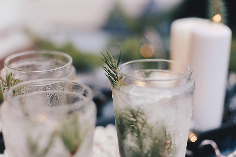 Eis Teelichter Winter Diy Für Draußen Und Kalte Tage