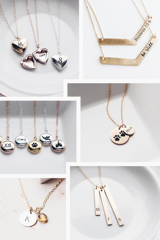 Etsy Picks, personalisierte Halsketten, filigrane Halsketten mit Gravur, Lifestyle Blog, Gift Guide, Fashion Blog, Modeblog, whoismocca.com
